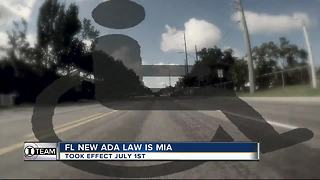 ADA: New FL law to stop lawsuit abuse useless