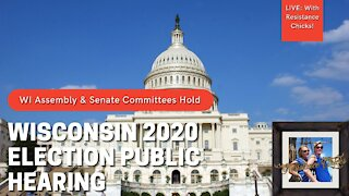 Weekly Updates +Wisconsin Hearings 2020 Election 12 11 20