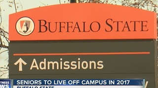 Buffalo State seniors forced to live off campus - Video