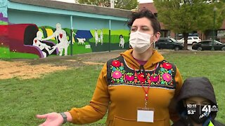 Mural spreads public health awareness