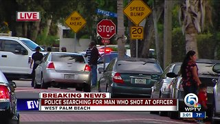 Police: Man shot at West Palm officer