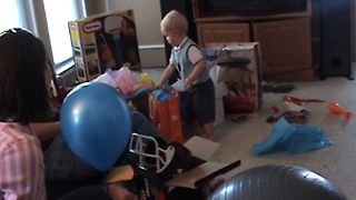 Kid Politely Rejects Birthday Present - Video