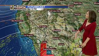Valley weather cloudy with bad air quality - Video