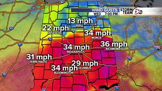 Windy & Warm Wednesday. - Video