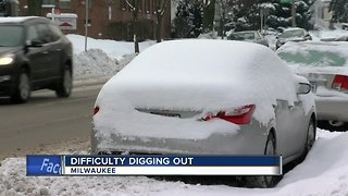 Difficulty digging out your car