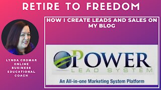 How I Create Leads And Sales On My Blog
