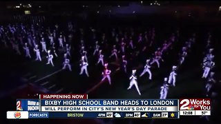 Bixby HS Band heads to London for New Year's Day Parade