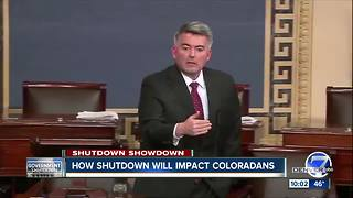 Thousands of federal workers in Colorado anxiously wait to see if government will shut down - Video