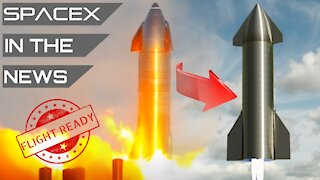 SpaceX Starship GO For Launch & Landing! | SpaceX in the News