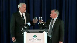 Milwaukee and Waukesha come to Lake Michigan water agreement - Video