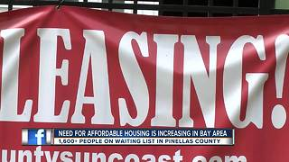 Group pushes for more Tampa Bay affordable housing - Video