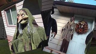 Family saddened after late daughter's favorite Halloween decorations stolen - Video
