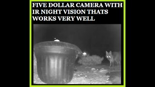 Five Dollar Night Vision Camera