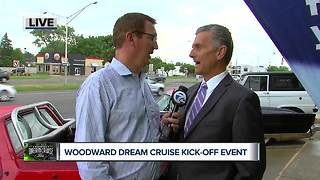 Kicking off the Woodward Dream Cruise - Video