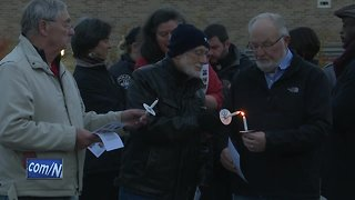 Vigil for synagogue shooting victims