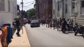 Car Plows Into Protesters, Quickly Reverses in Charlottesville - Video