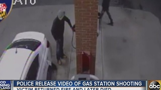 Video of deadly gas station shooting released