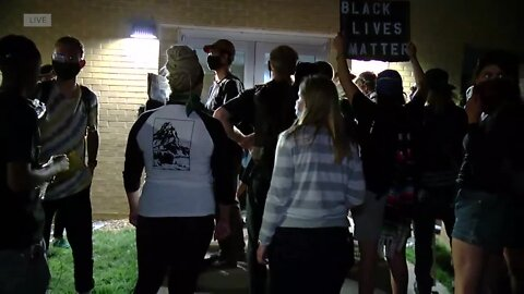 Protesters occupy Aurora Police building, demand department to fire officers involved in Elijah McClain's arrest