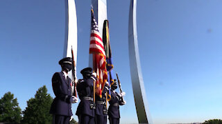 US Air Force Presentation of Colors