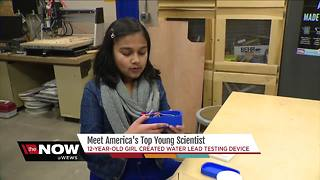 Meet America's top young scientist - Video