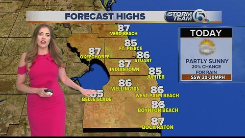 South Florida Thursday afternoon forecast (4/18/19)