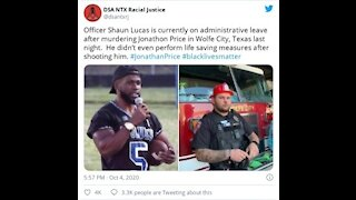 Arrested! Texas Cop Who Killed 'Hero' Jonathan Price Is Charged With Murder