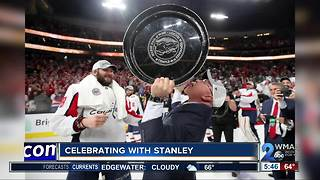 Celebrating with Stanley