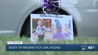 KCK community mourns 3-year-old Olivia Jansen's death