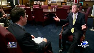 Hickenlooper calls for bipartisanship to address 'fiercely urgent' issues in final State of State - Video