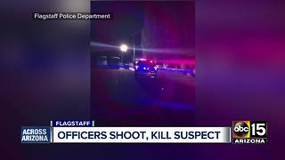 Officers and suspect identified in Flagstaff shooting