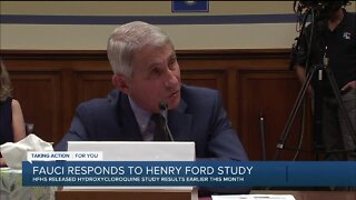 Fauci responds to Henry Ford study