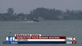U.S. Coast Guard searches for missing boaters along Caloosahatchee - 7am report - Video