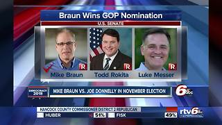 Mike Braun wins Indiana's Republican Senate race - Video