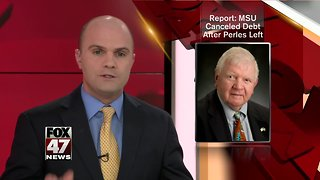 Report: MSU paid off Perles' $200k debt after his resignation