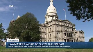 Lawmakers work to slow the spread of Covid