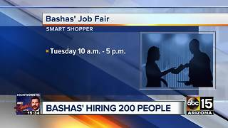 Bashas to hire 200 people - Video