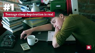 Measuring a teenager's stress | Rare Life - Video