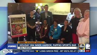 Pappas Sports Bar gives a shout out on GMM - Video
