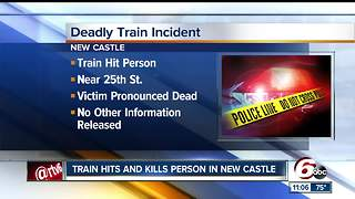 One person killed in train accident in New Castle