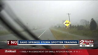 Sand Springs to host storm spotter training