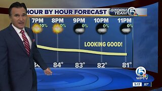 4th of July nighttime forecast