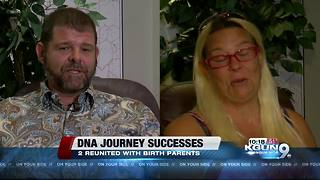 DNA tests help reunite man, woman with birth mothers