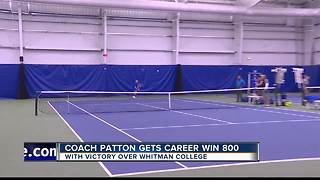Coach Patton picks up his 800th career win