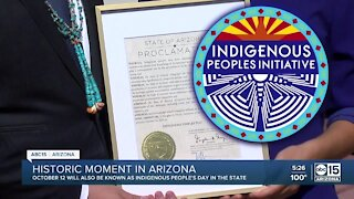Historic moment in Arizona