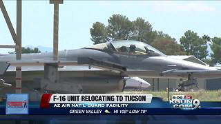 F-16 Unit relocating to Tucson - Video