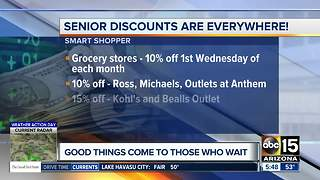 Where you can get senior discounts