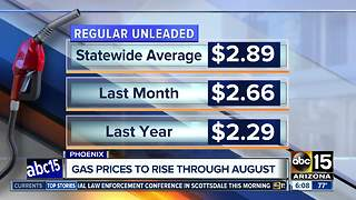 Gas prices continue to climb - Video