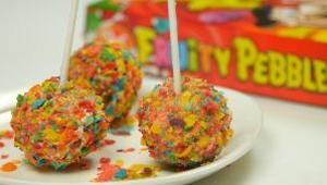 Fruity Pebbles Cake Pops - Video