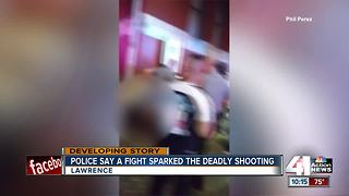 Lawrence PD wants video of Sunday fatal shooting - Video