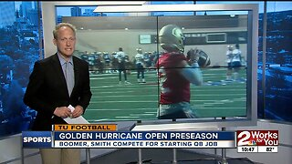 Oklahoma State, Tulsa Football open Preseason Practice with QB Competitions